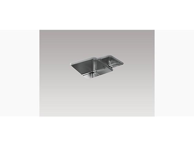 Hone 595mm 1.5 Bowl Under-Mount Sink