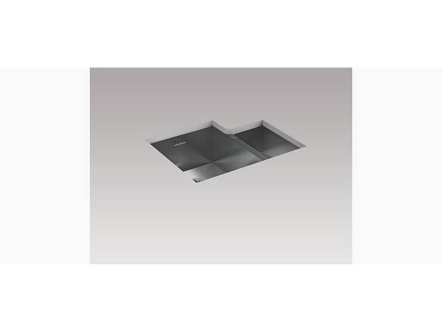 True 577mm 1.5 Bowl Under-Mount Sink