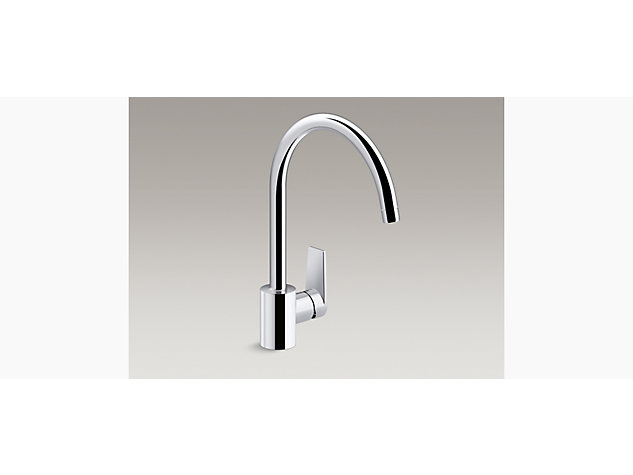 Taut single-lever tap