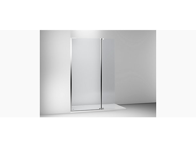Composed Glass Divider 400mm Hinged Panel