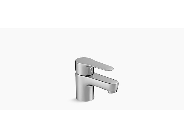July Single-lever monobloc basin mixer with clicker waste