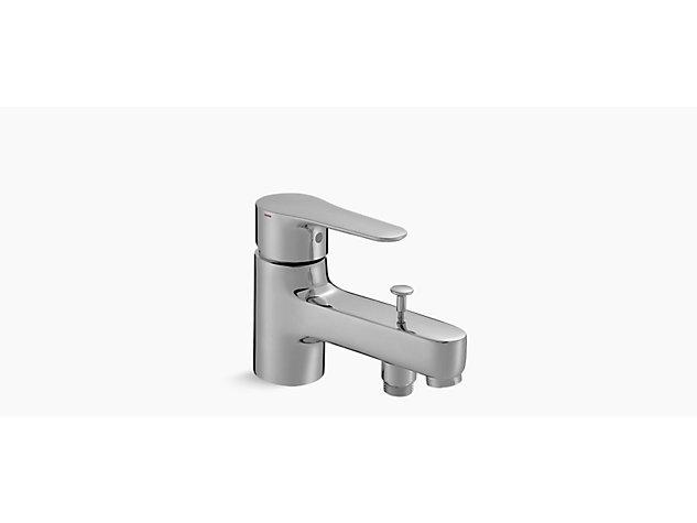 July Single-lever monobloc bath shower mixer