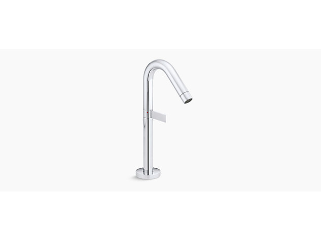 Stillness Tall single-lever monobloc basin mixer with clicker waste