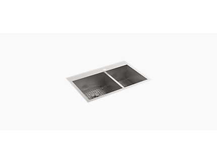 Rêve Base unit for 600mm Washbasin/Vanity top, 2 drawer