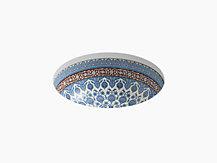 Marrakesh™design on Camber®under-mount vessel basin