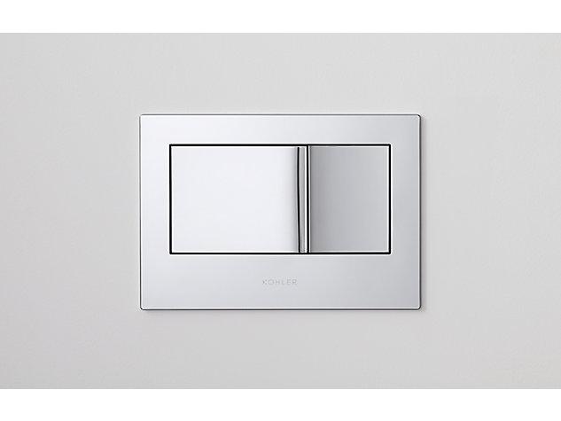 Flush Plate polished chrome (1) Thumbnail