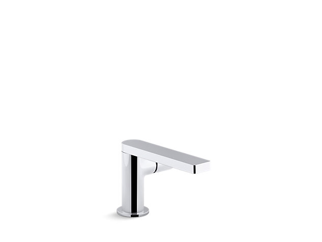 Composed single-lever monobloc basin mixer without waste side handle Thumbnail