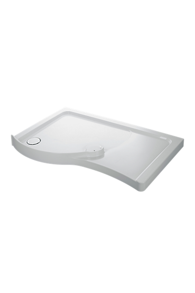 Walk-in tray - 1400 x 800 - LH