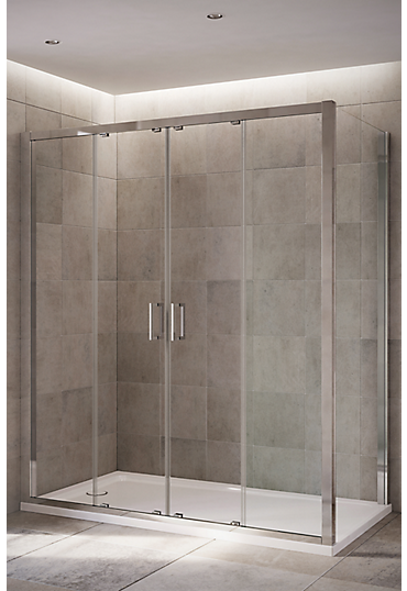 Mira Leap Double Sliding Doors By Mira Showers