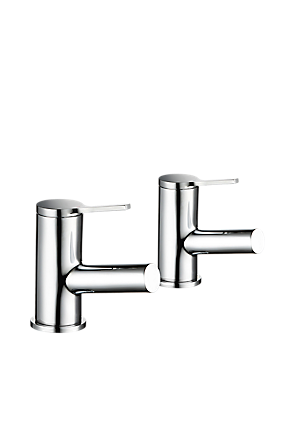 Mira Evolve Bath Pillar Taps