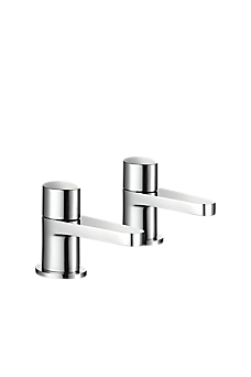 Mira Precision Bath Pillar Taps