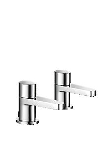 Mira Precision Bath Pillar Taps