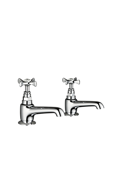 Mira Virtue Basin Pillar Taps