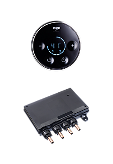 Mira Platinum Dual Valve & Controller - High Pressure