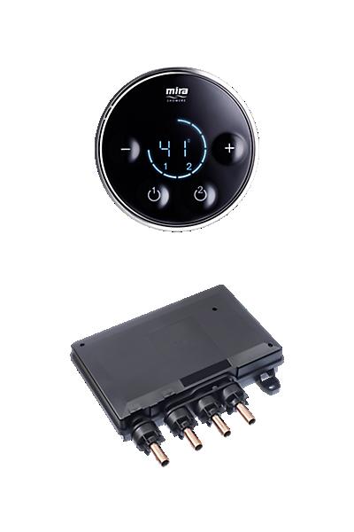 Mira Platinum Dual Valve & Controller - High Pressure / Combi Boiler