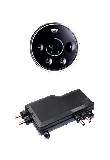 Mira Platinum Dual Valve & Controller - Pumped