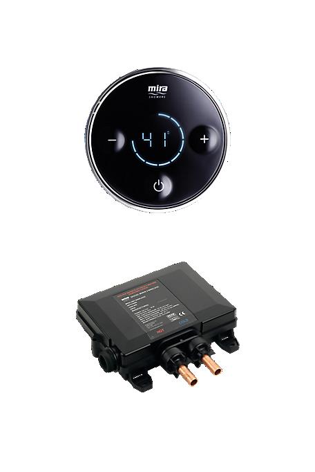 Mira Platinum Valve & Controller - High Pressure