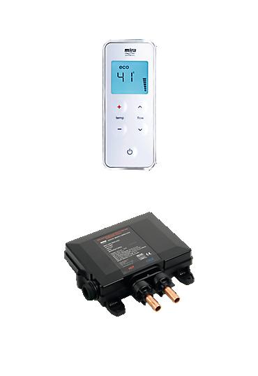 Mira Vision Valve & Controller - High Pressure / Combi Boiler