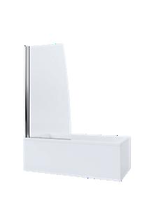 Mira Single Panel Sail Bathscreen