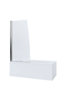Mira Single Panel Sail Bathscreen
