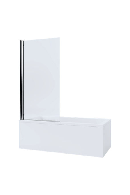 Mira Single Panel Square Bathscreen