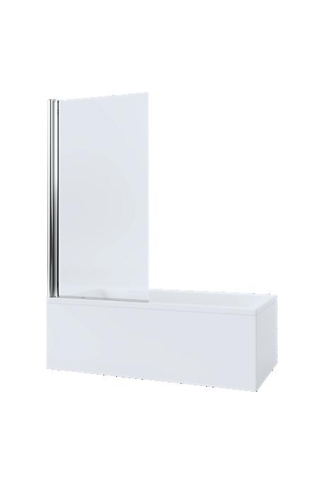 Mira Single Panel Square Bathscreen