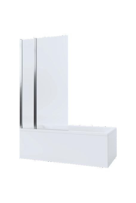 Mira Twin Panel Bathscreen