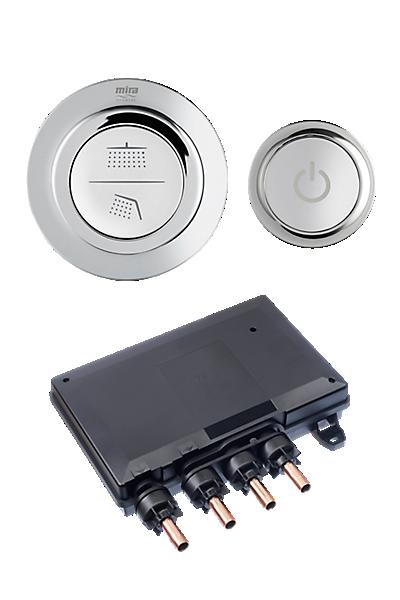 Mira Mode Dual Valve & Controller Only (High Pressure / Combi Boiler)