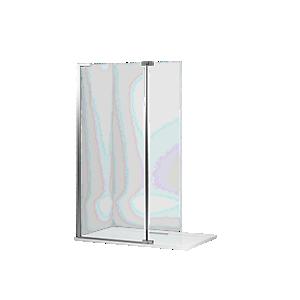 Mira Ascend Divider Hinged Deflector Panel 400mm