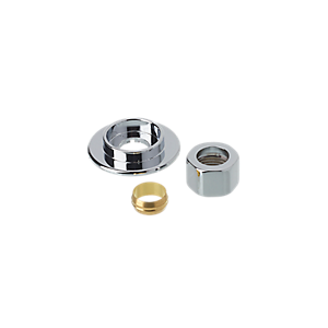 Mira Mixer Shower Inlet Pipe Concealing Plate