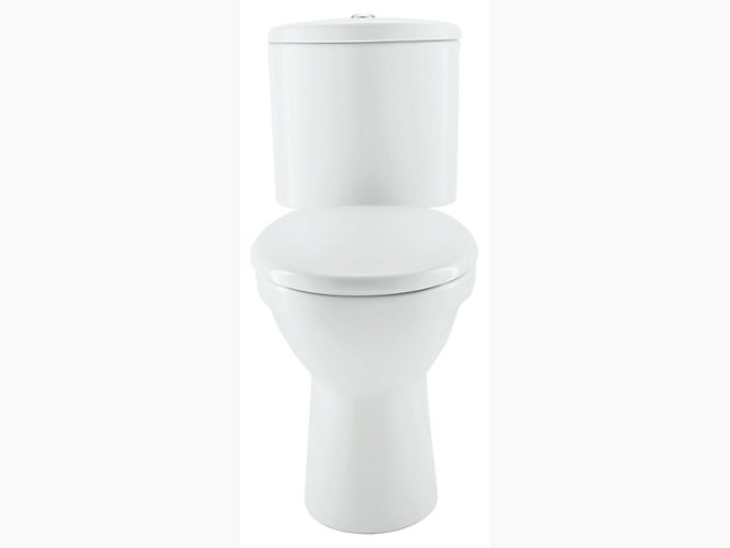 Patio Two Piece Toilet With Quiet Close