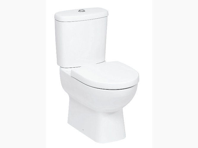 Panache Two Piece Toilet With Quiet Close Tm Seat And