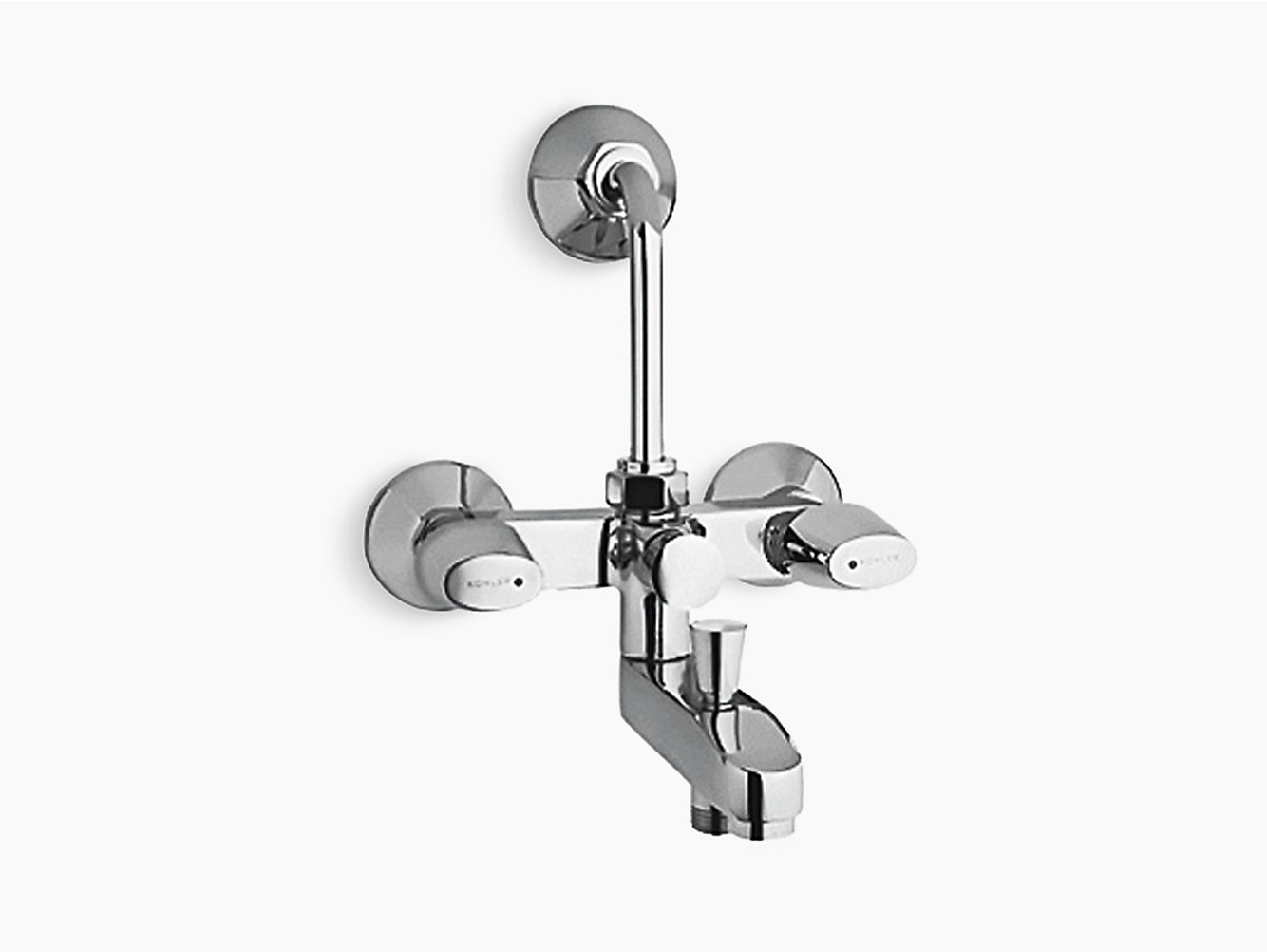 Sirocco Exposed bath and shower faucet with diverter for showerhead ...
