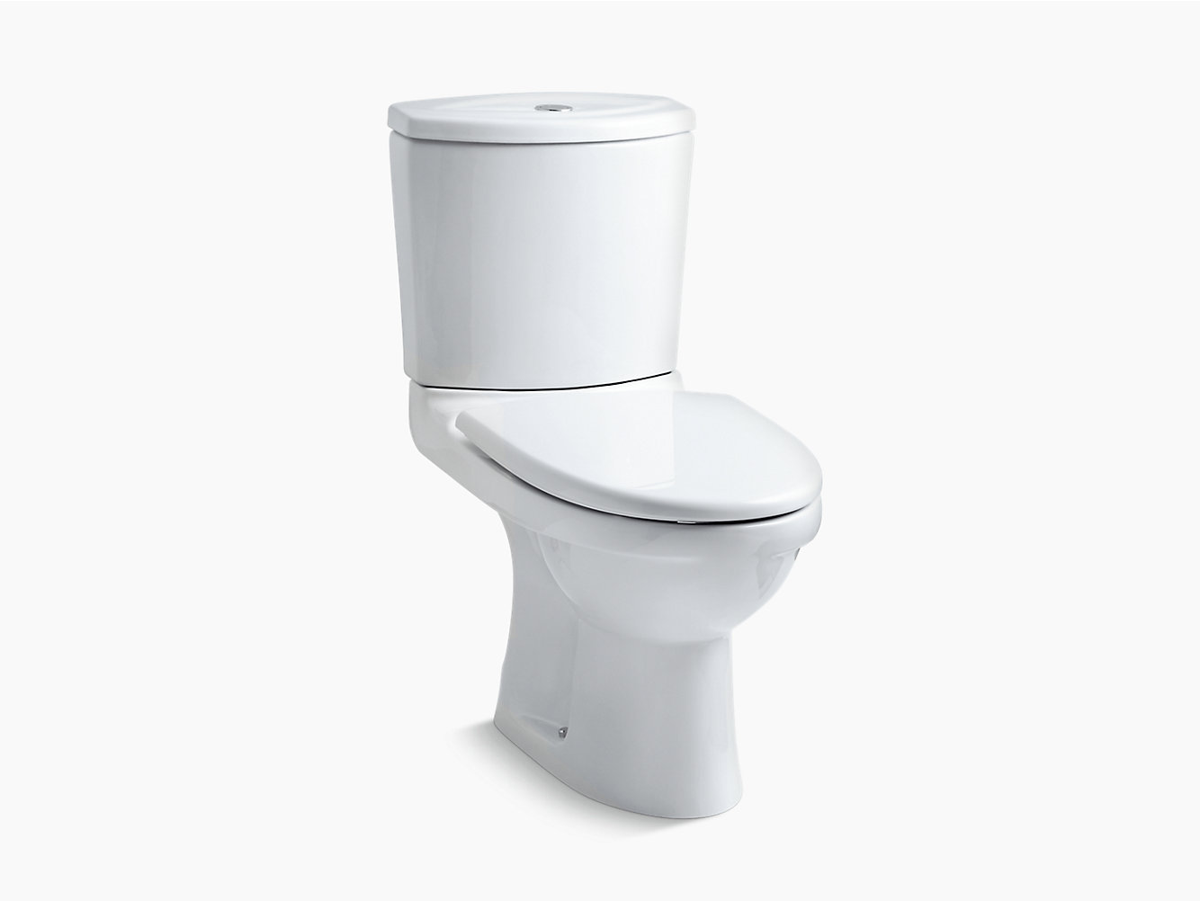 Odeon two-piece toilet with Quiet-Close seat and cover | K-8711IN-S ...