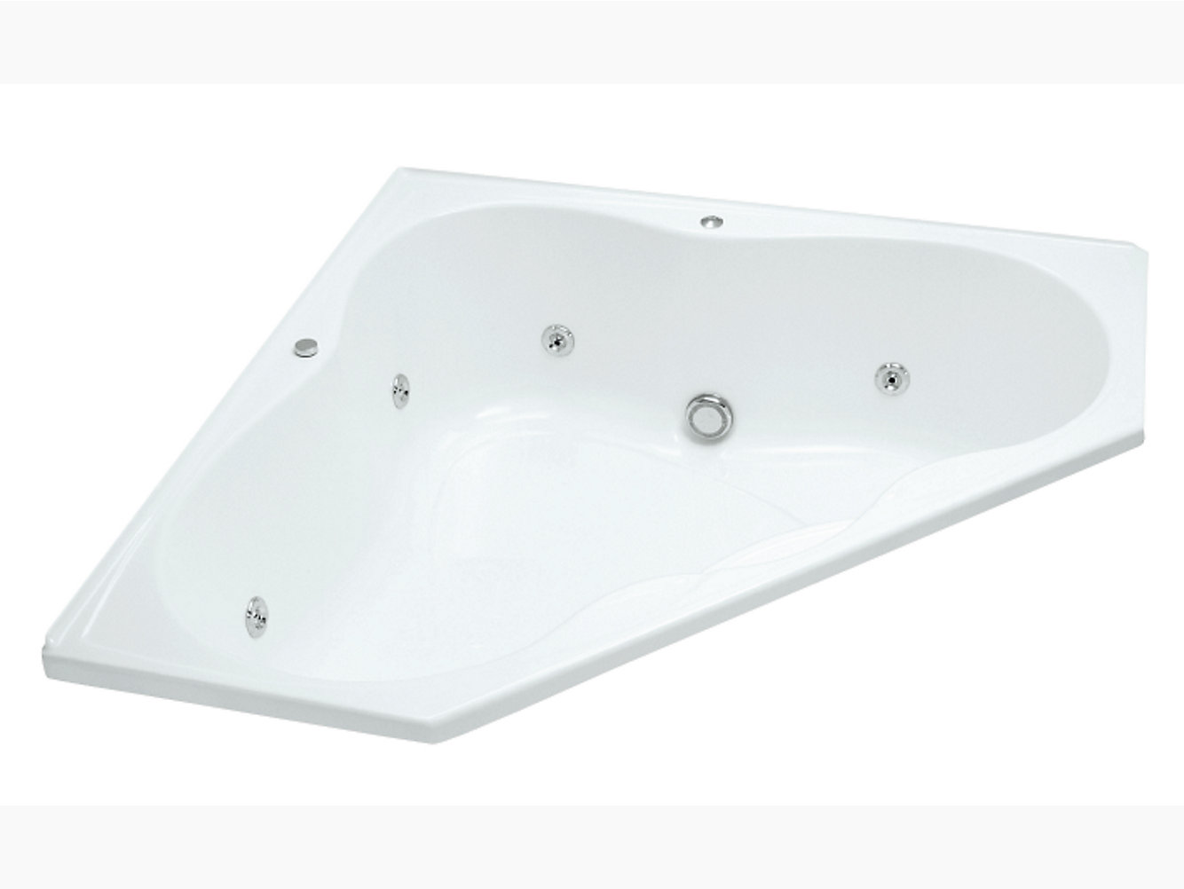 Emerald acrylic drop-in whirlpool | K-18777T | KOHLER