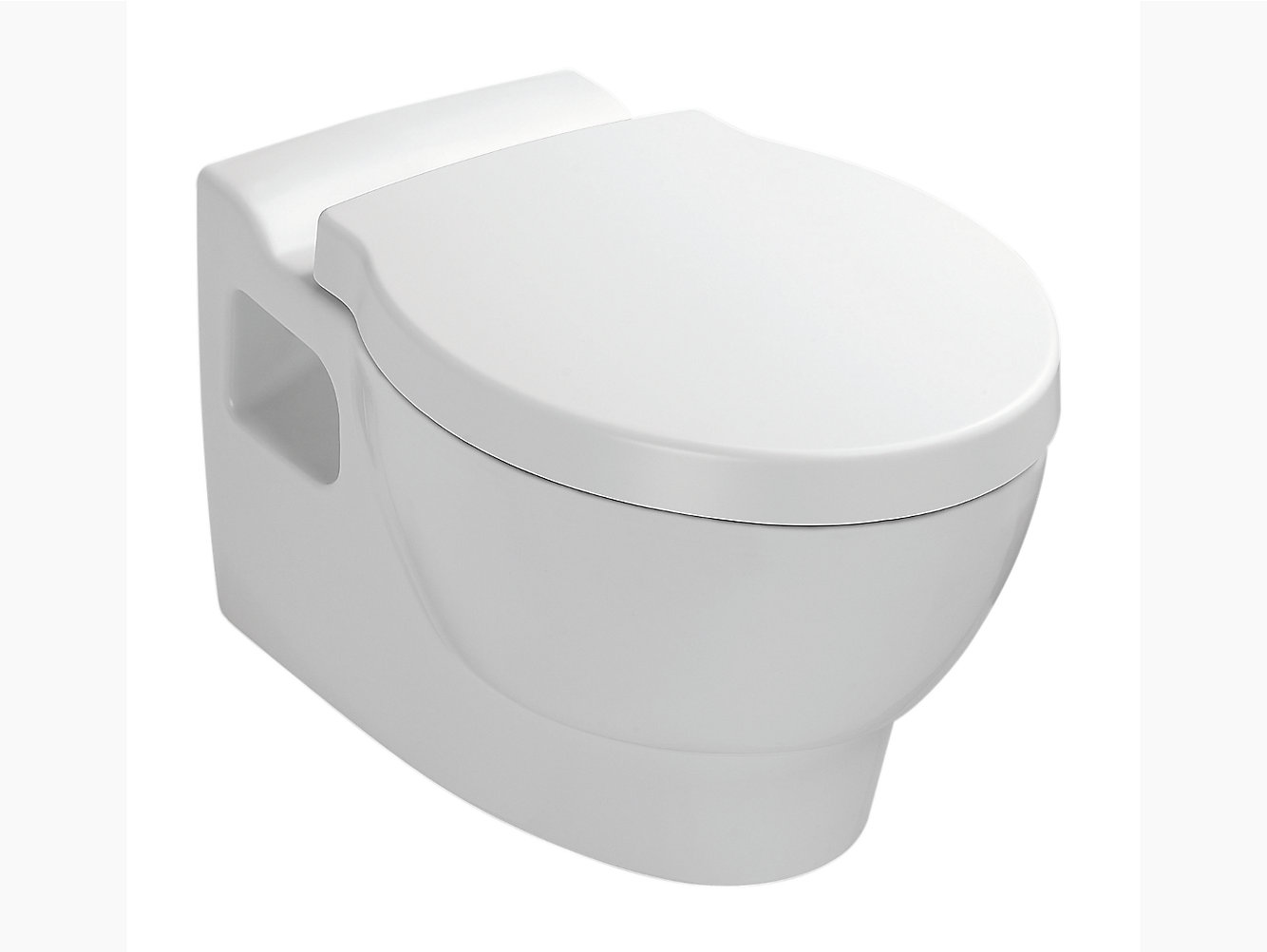 Ove Wall-hung toilet with Quiet-Close(TM) seat and cover | K