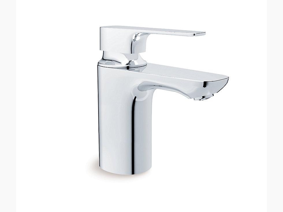 Aleo Single Control Lavatory Faucet In Polished Chrome