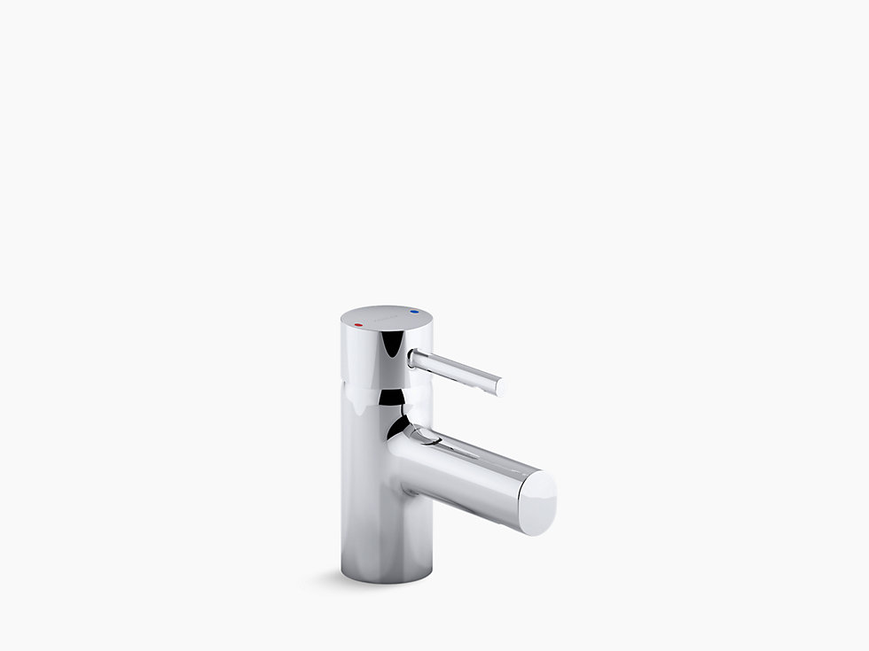 Cuff Single Control Lavatory Faucet In Polished Chrome K