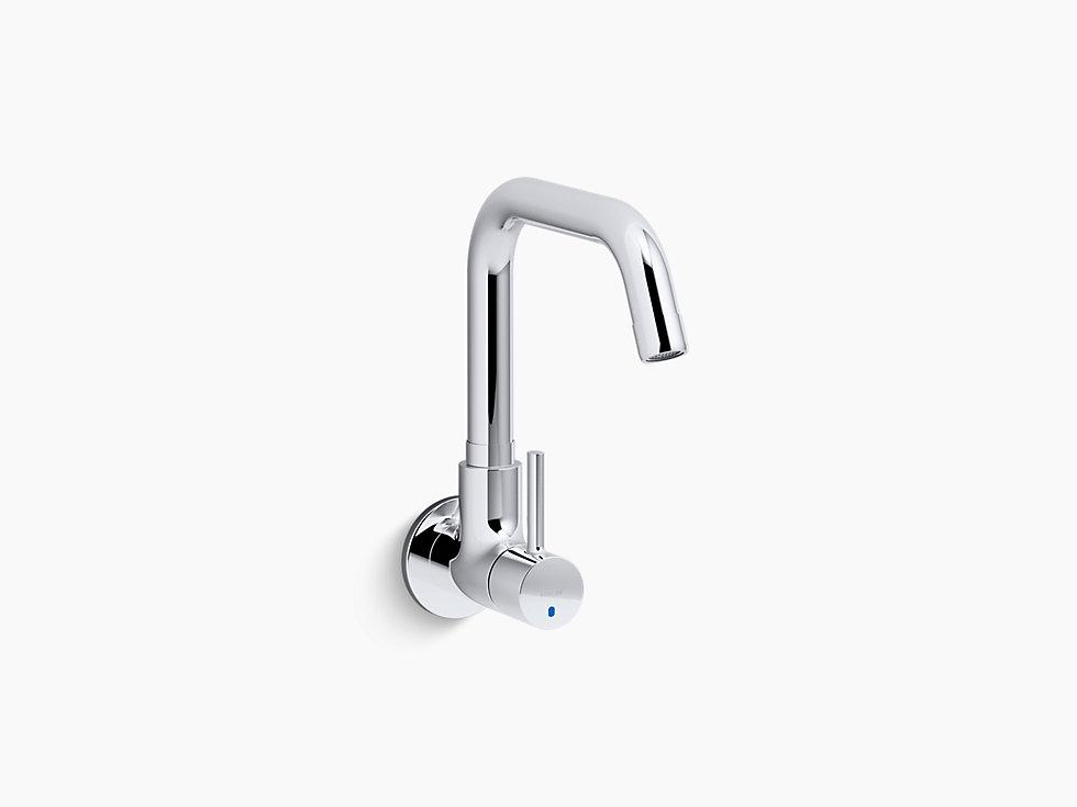 Modern Wall Mount Kitchen Faucet
