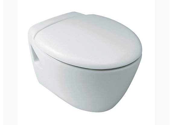 Presqu'ile Wall-hung toilet with Quiet-Close™ seat 18133IN-2SR-0