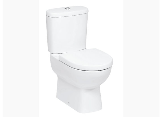 Panache Two-piece toilet with Quiet-Close™ seat and cover 17640IN-S-00
