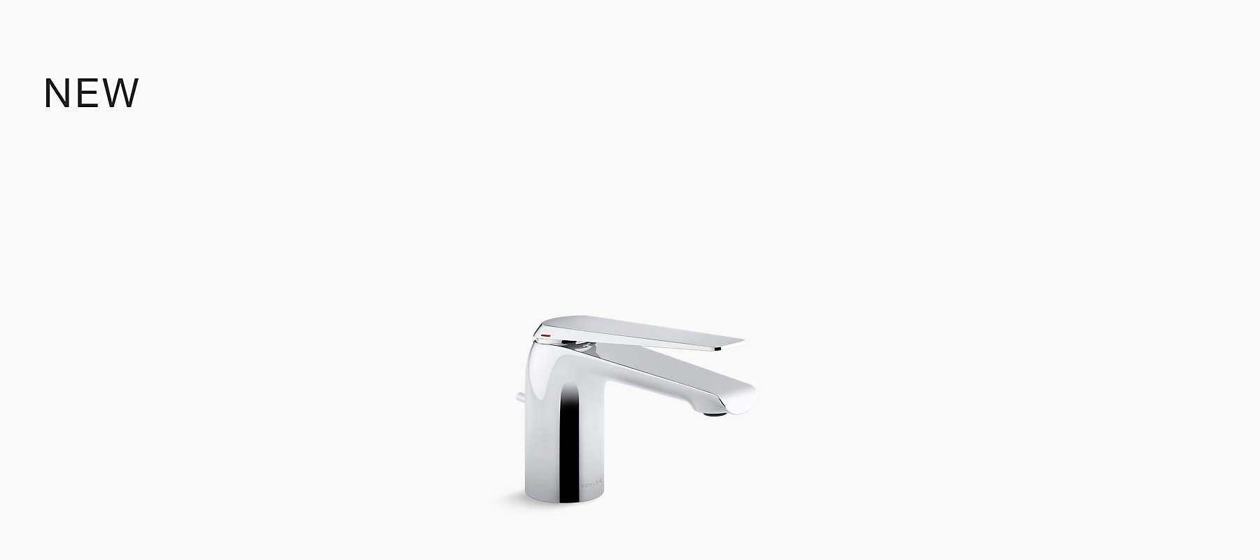 Avid Single Control Lavatory Faucet With Drain In Polished