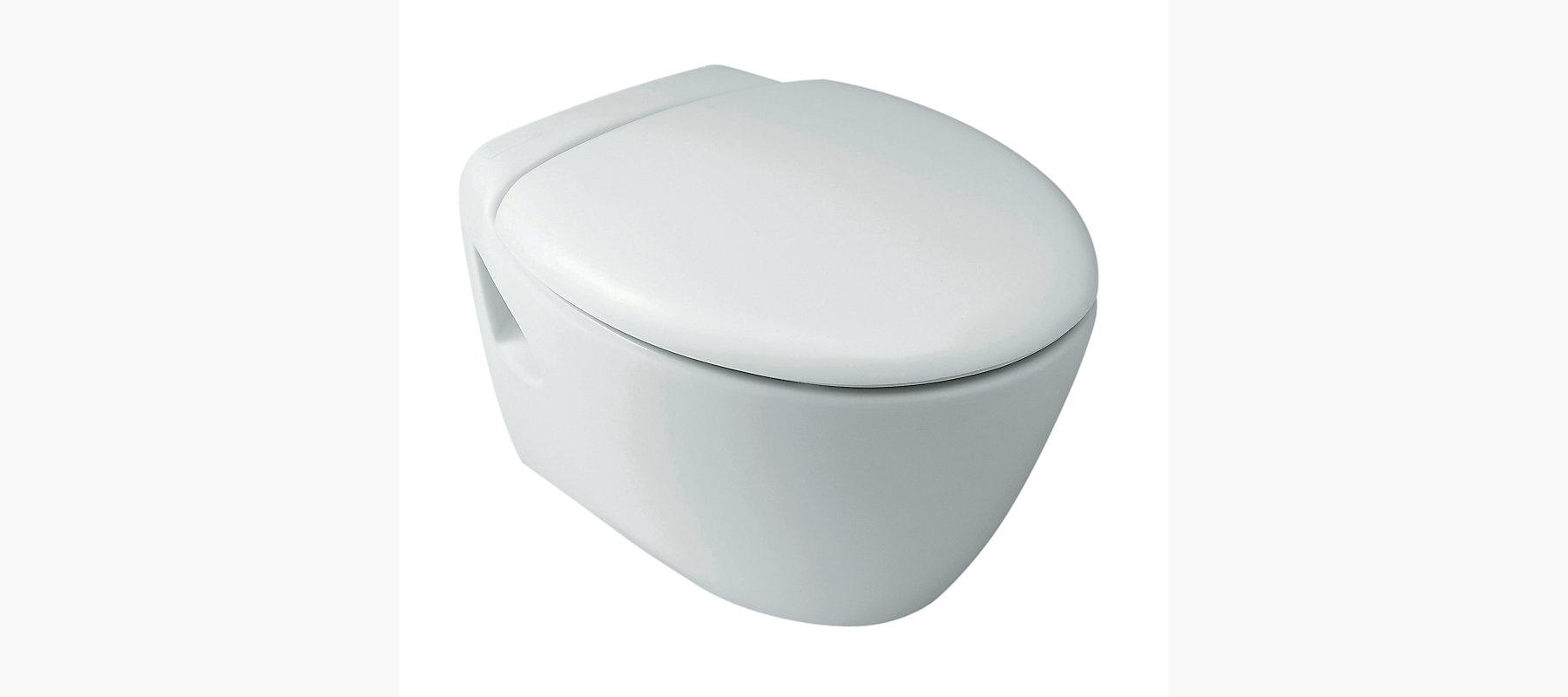 Presqu Ile Wall Hung Toilet With Quiet Close Tm Seat K