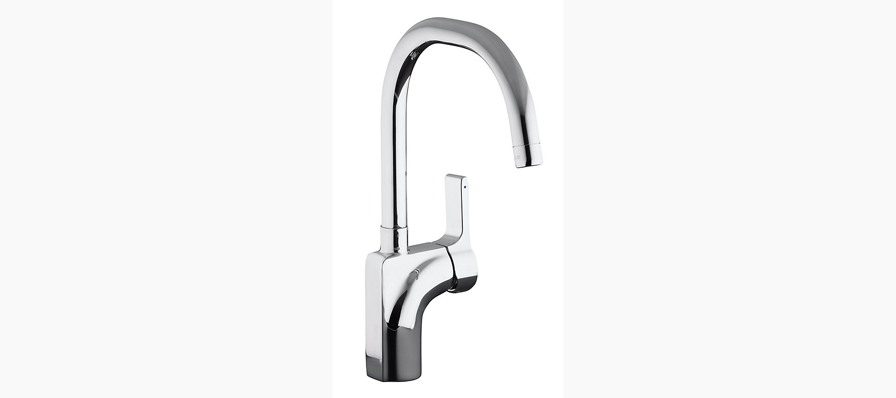 Singulier Single Control Kitchen Sink Faucet With Lever