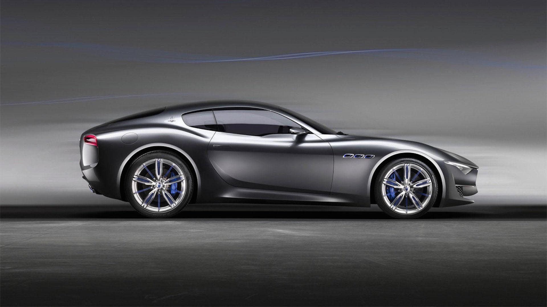 Maserati Alfieri Concept Car, vista laterale