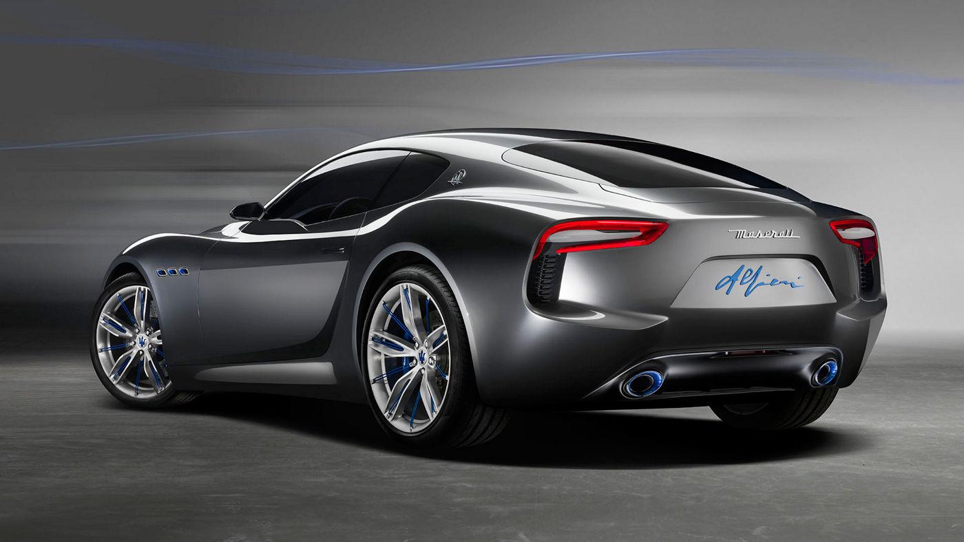 Maserati Alfieri - Ansicht von hinten