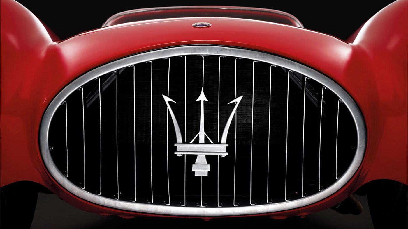 Maserati Classic - Maserati Logo - Front view