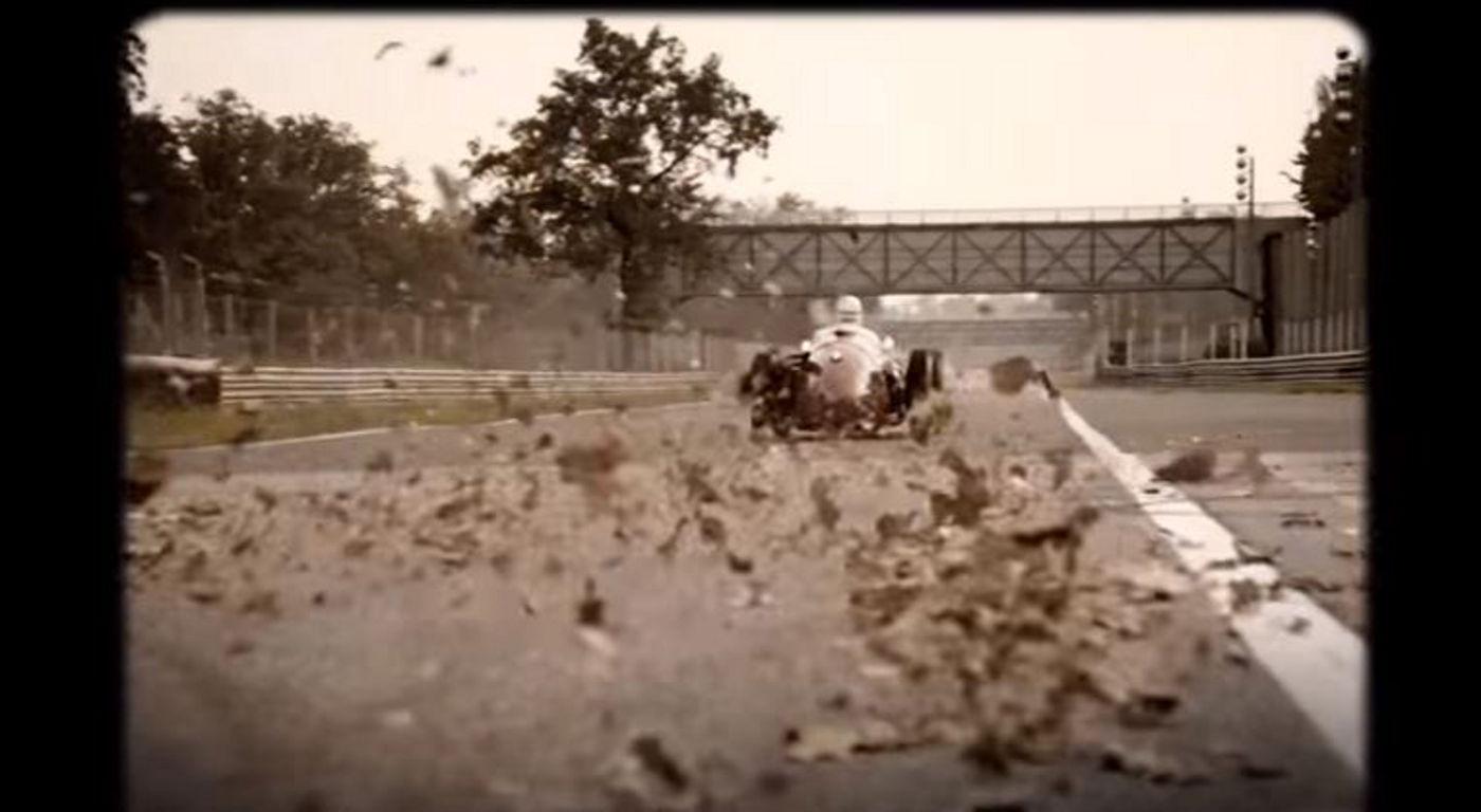 Maserati Classic - Formula 1 - Back view - On race track