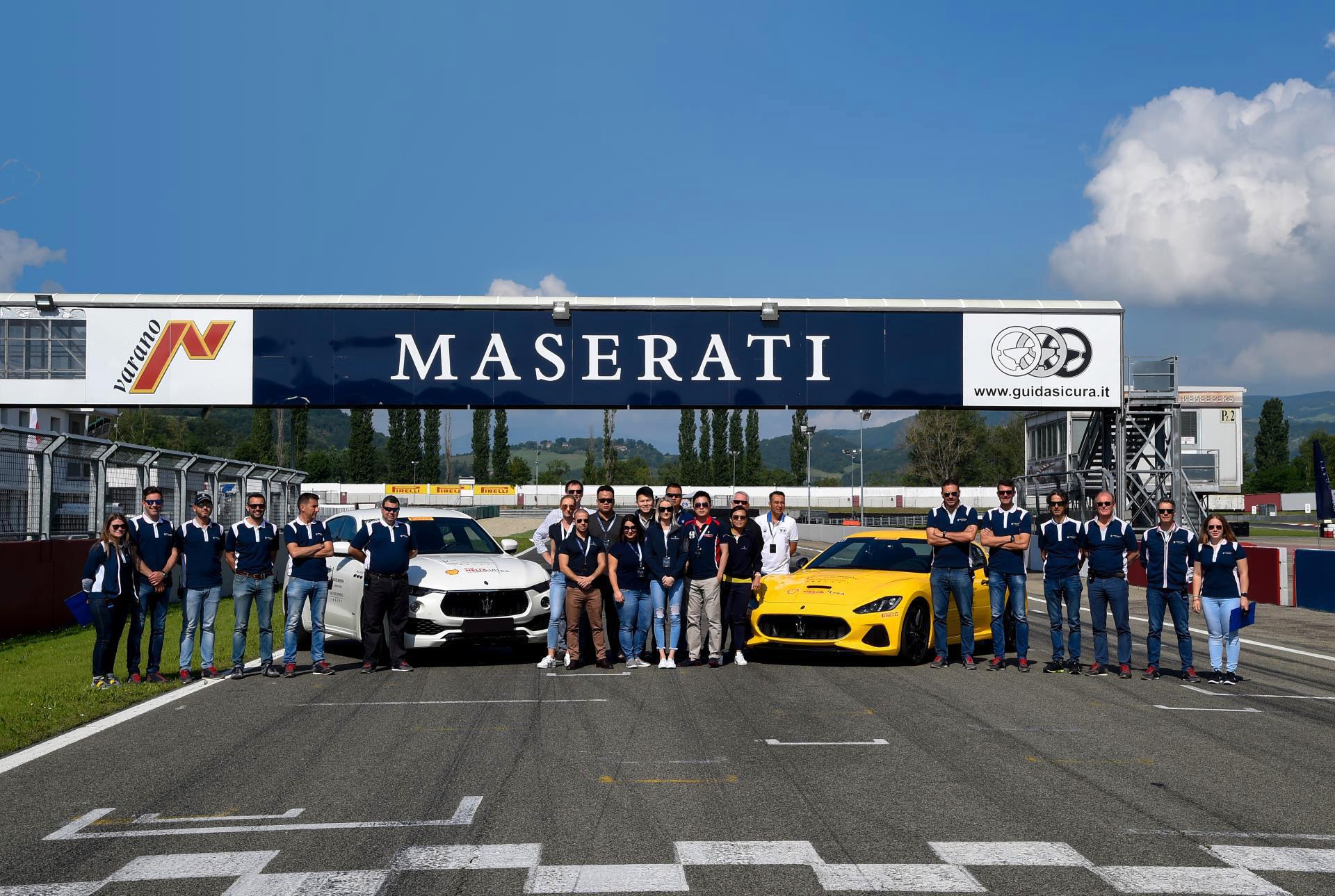 Master Maserati Incentive Fahrtraining für Firmen - Team-Building