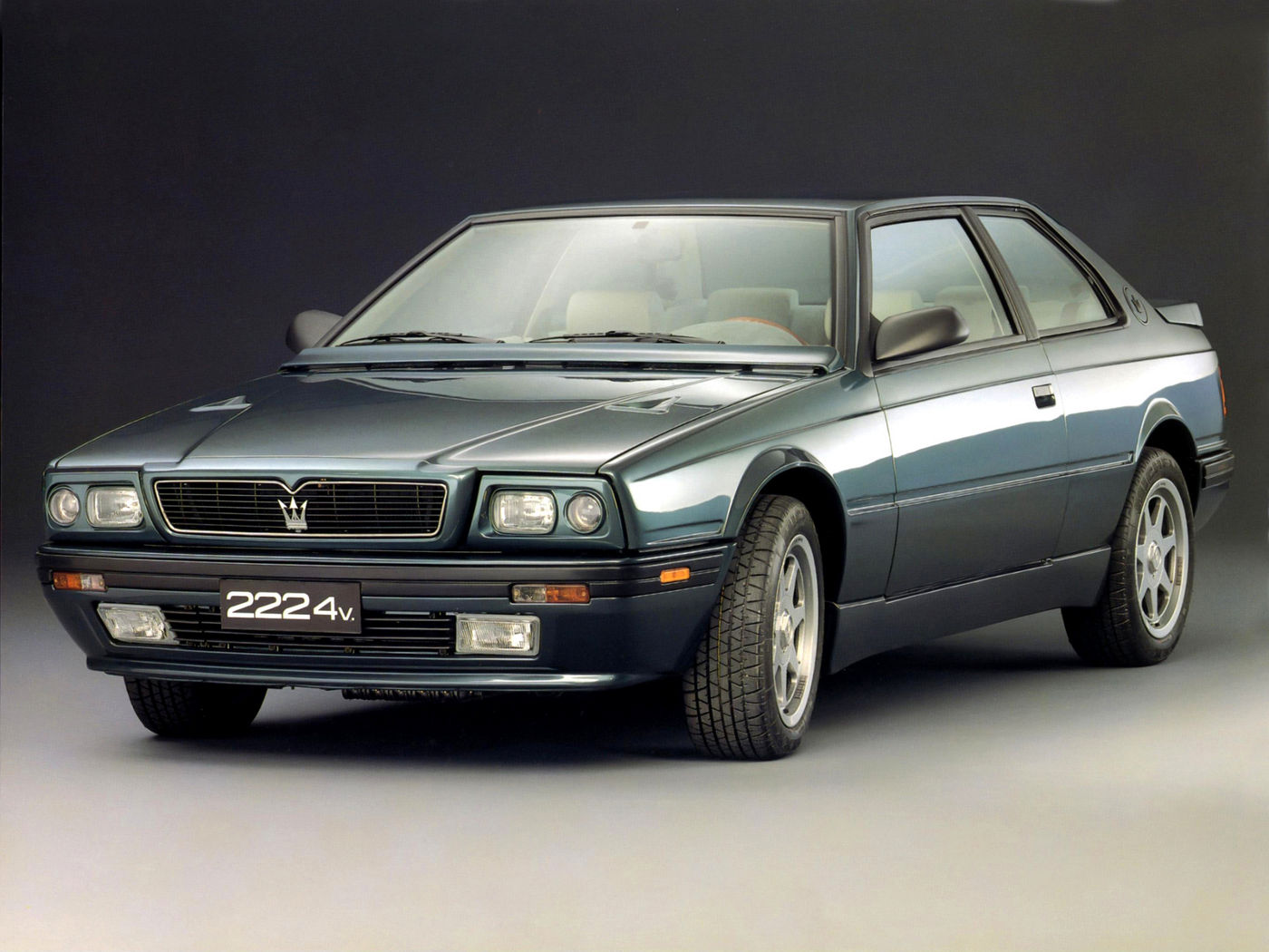 1989 Maserati 222 export - Biturbo - the classic 2-door